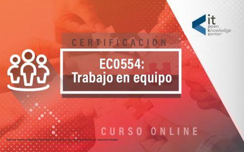 EC0554 Trabajo en equipo