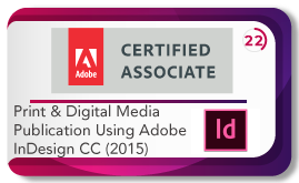 Print and media publication using adobe indesign cc 2015