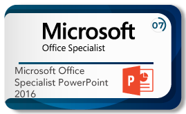 Microsoft office specialist power point 2016