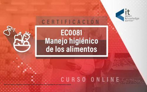 EC0081 Manejo higiénico de alimentos