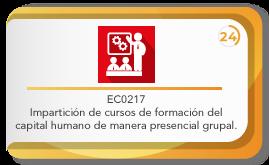 EC0217 impartición de cursos de formación del capital humano de manera presencial grupal